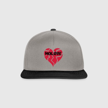 NO LOVE | Broken Heart - Snapback Cap