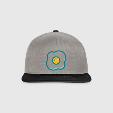 fried egg - Snapback Cap