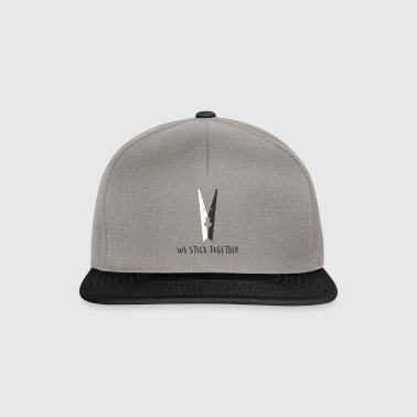 we stick together - Snapback Cap