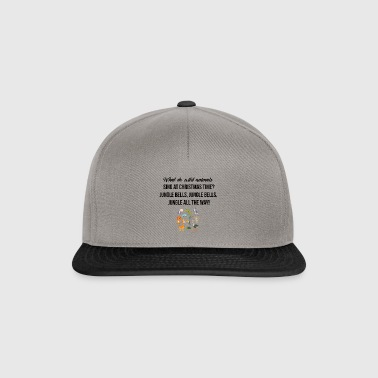 What do wild animals sing at Christmas time? - Snapback Cap