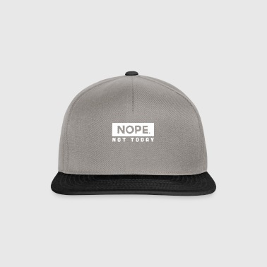 Do not worry today! - Snapback Cap
