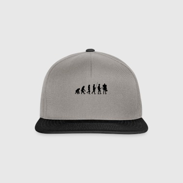 Evolution to Football Player T-Shirt Gift - Snapback Cap