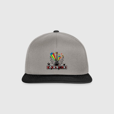 Rocking ON! design - Snapback Cap