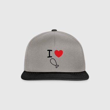 I love chicken and meat gift idea - Snapback Cap