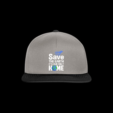 Save the Earth our home - Snapback Cap