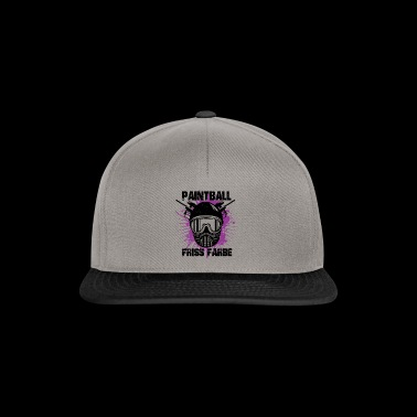 Paintball - Friss color - Snapback Cap