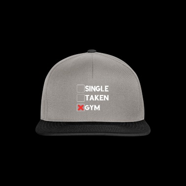 Single Taget Gym Tee Shirt - Snapback Cap