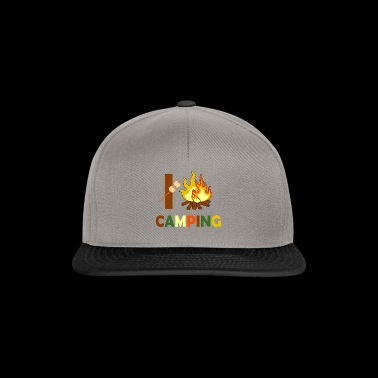 I Love Campfires and Camping - Snapback Cap