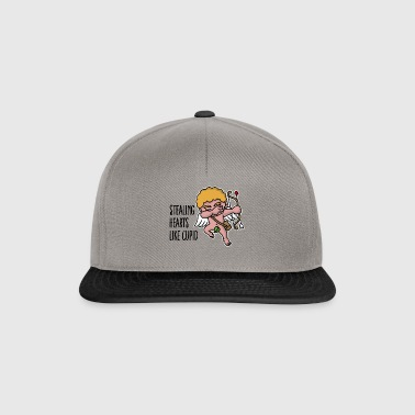 Stealing hearts like cupid - Valentine's day dab - Casquette snapback