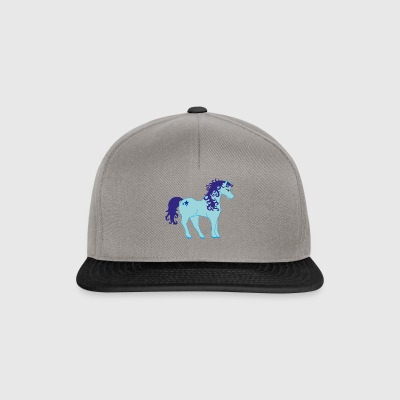 Unicorn without a horn) - Snapback Cap