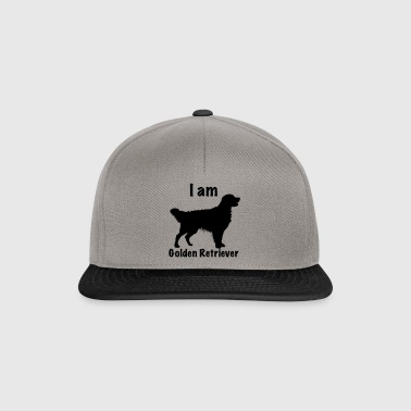 I am Golden Retriever - Snapback Cap