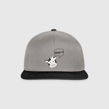 Cow / gård: moove It! - Snapback Cap