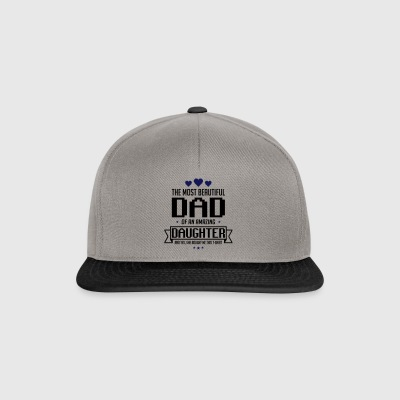 Beautiful Daughter's father's day - fathers day - Snapback Cap