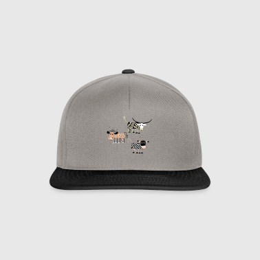 cow198 - Casquette snapback