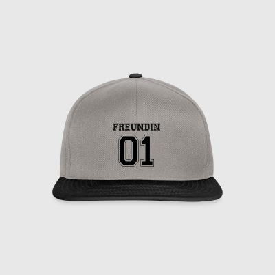 Freundin - Black Edition - Snapback Cap