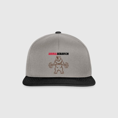 Animal behavior color above - Snapback Cap