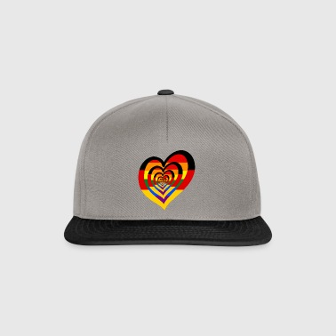 RainbowHeart allemand - Casquette snapback