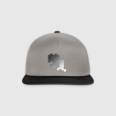 Hexagonal pattern - Snapback Cap