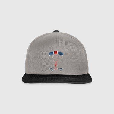 Skydiving #UK - Snapback Cap