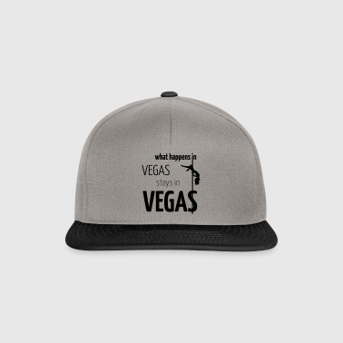 what happens in vegas... - Snapback Cap