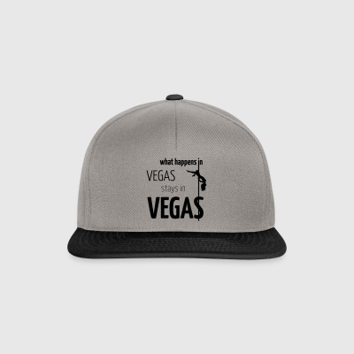 What Happens in Vegas ... - Czapka typu snapback