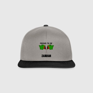 Proud to be land heimat Sambia - Snapback Cap