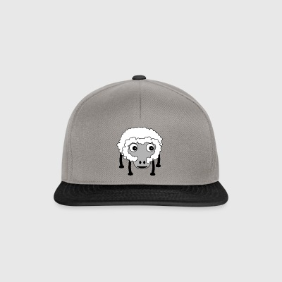 schapen cartoon 24 - Snapback cap