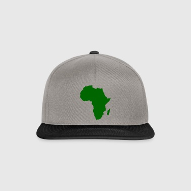 afro styles green - Snapback Cap