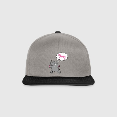 to run - Snapback Cap