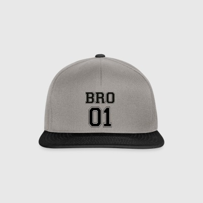 BRO 01 - Black Edition - Snapback Cap