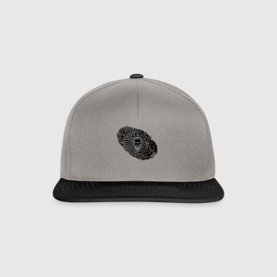 fingerprint dns dna gift beard hair beard - Snapback Cap