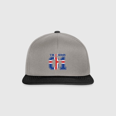 home roots name iceland island THEO DO R - Snapback Cap
