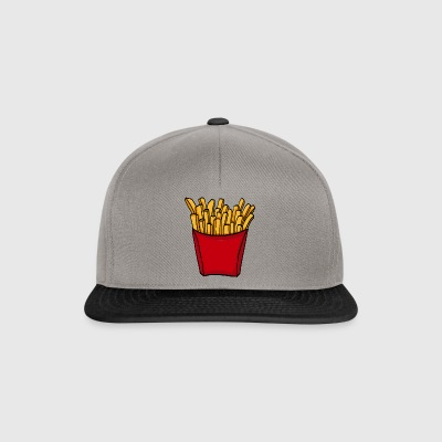 French fries fast food french fries love food - Snapback Cap