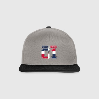 brother brother 01 king Dominican Republic - Snapback Cap
