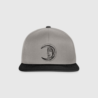 Face Moon - Snapback Cap