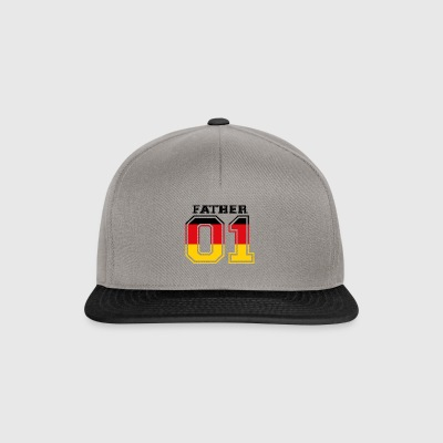 Father father papa 01 queen germany - Snapback Cap