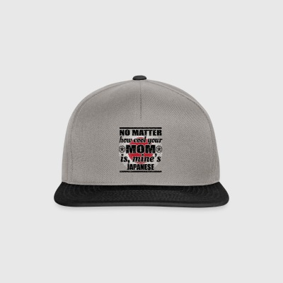 no matter cool mom mother gift Japan png - Snapback Cap