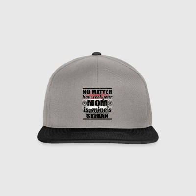 no matter cool mom mother poison Syria png - Snapback Cap