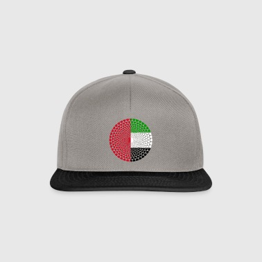 Arabische Emirate UAE United Arab Emirates Mandala - Snapback Cap