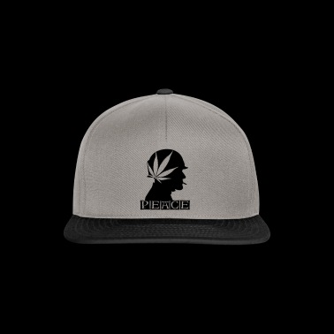 420 Peace soldier - Snapback Cap