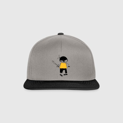 a pirate - Snapback Cap