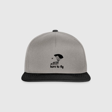 Evolution Skydiving - born to fly - Snapback Cap