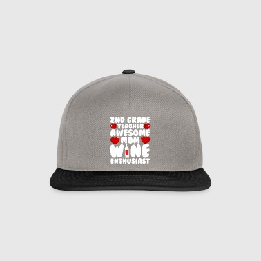66 teacher 2nd grade - Snapback Cap