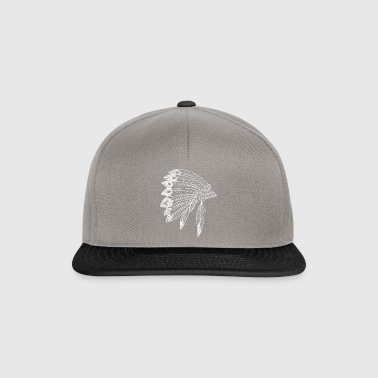 Origin Native American Indian Feathers Style Birth - Snapback Cap