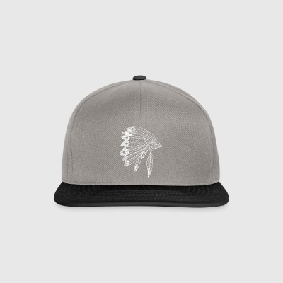 Origin innfødte indianere springer stil Birth - Snapback-caps