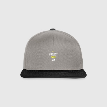 Distressed - COOLEST POOL SON - Snapback Cap
