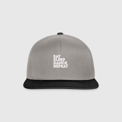Amantes de Eat Sleep Dance Repeat Music - Gorra Snapback