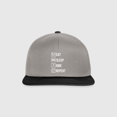 Ski Skiing Skier Skiing Ski Slope Winter - Snapback Cap