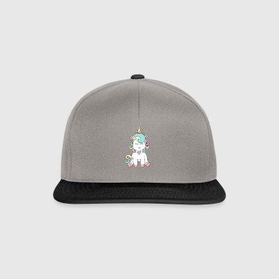 The unicorn baby. It could not be sweeter. - Snapback Cap