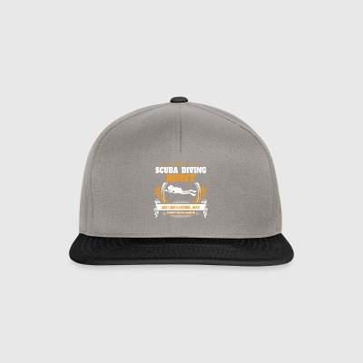 Scuba Diving Shirt Gift Idea - Gorra Snapback